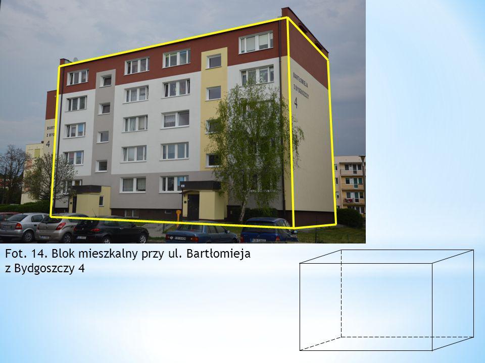Fot. 14. Blok mieszkalny przy ul. Bartłomieja z Bydgoszczy 4