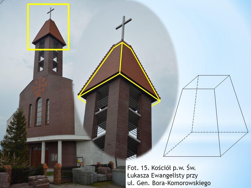 Fot. 15. Kościół p.w. Św. Łukasza Ewangelisty przy
