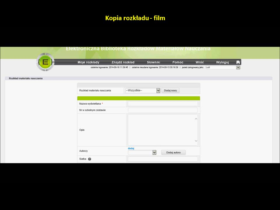 Kopia rozkładu - film