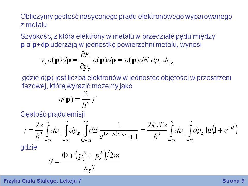 Fizyka Ciała Stałego, Lekcja 7 Strona 9