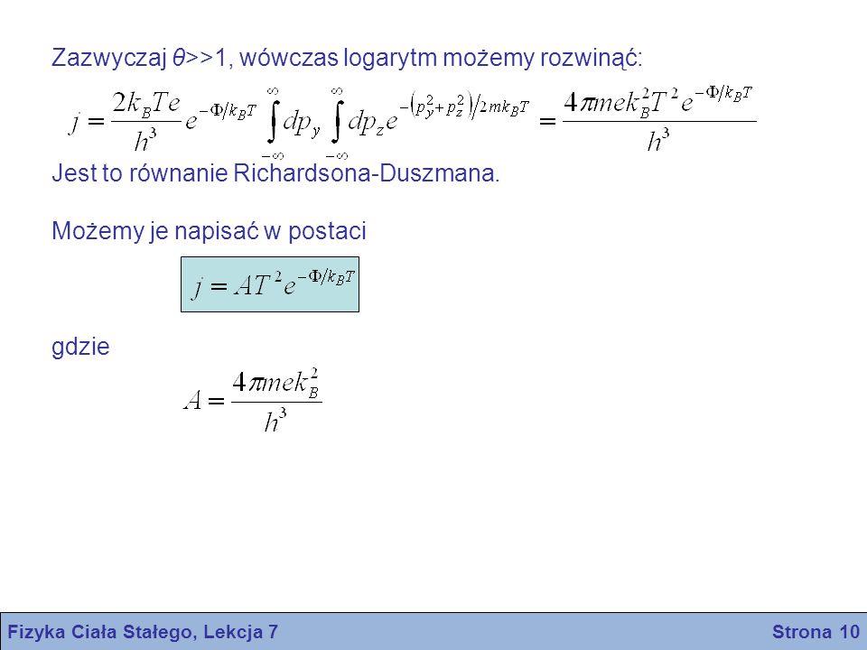 Fizyka Ciała Stałego, Lekcja 7 Strona 10
