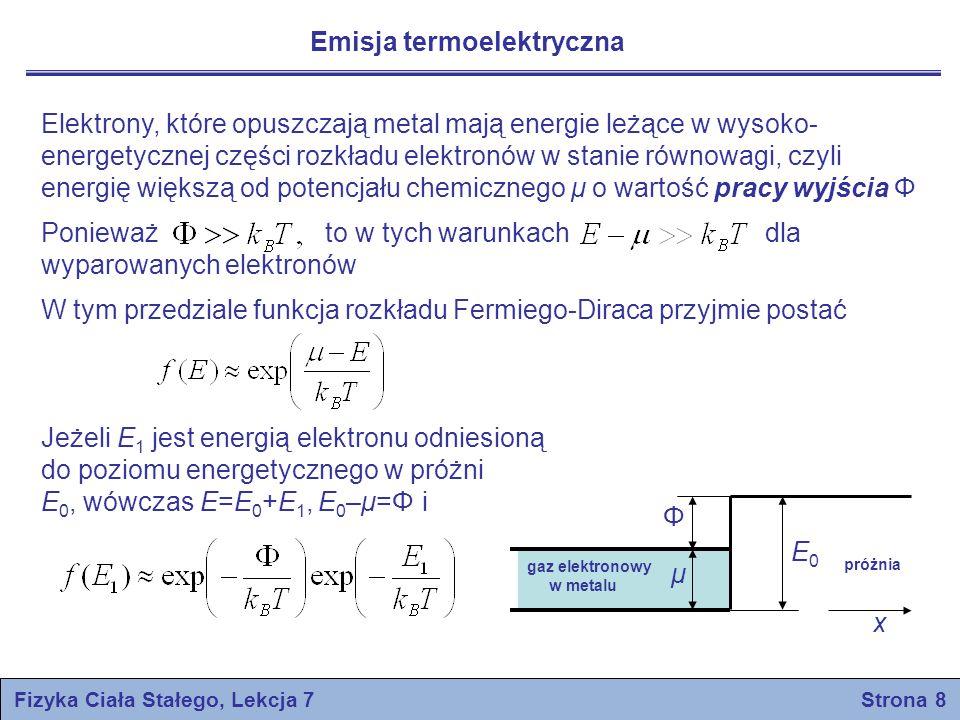 Fizyka Ciała Stałego, Lekcja 7 Strona 8