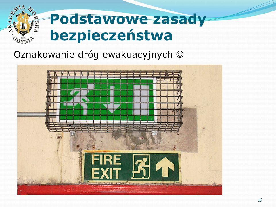 Podstawowe zasady bezpieczeństwa