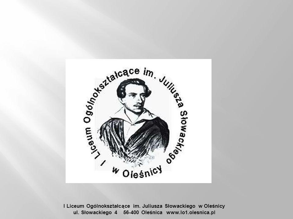 I Liceum Ogólnokształcące im. Juliusza Słowackiego w Oleśnicy