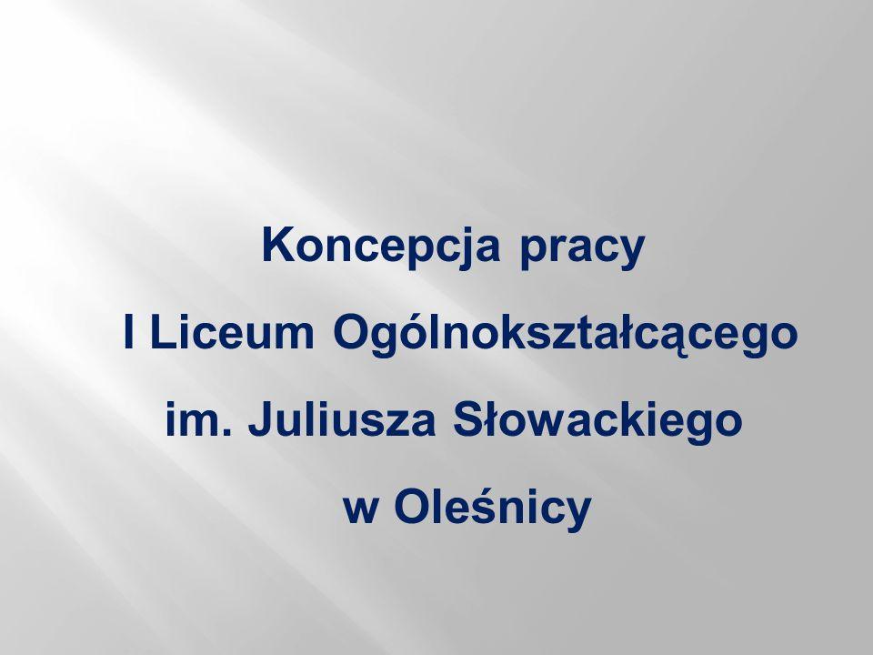 I Liceum Ogólnokształcącego im. Juliusza Słowackiego