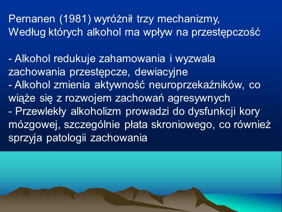 Pernanen (1981) wyróżnił trzy mechanizmy,