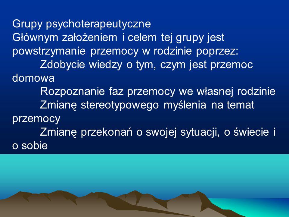 Grupy psychoterapeutyczne