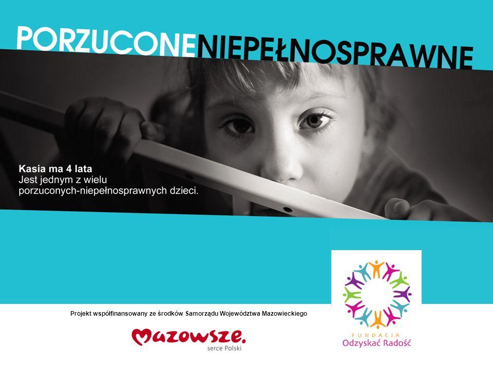 Projekt współfinansowany ze środków Samorządu Województwa Mazowieckiego