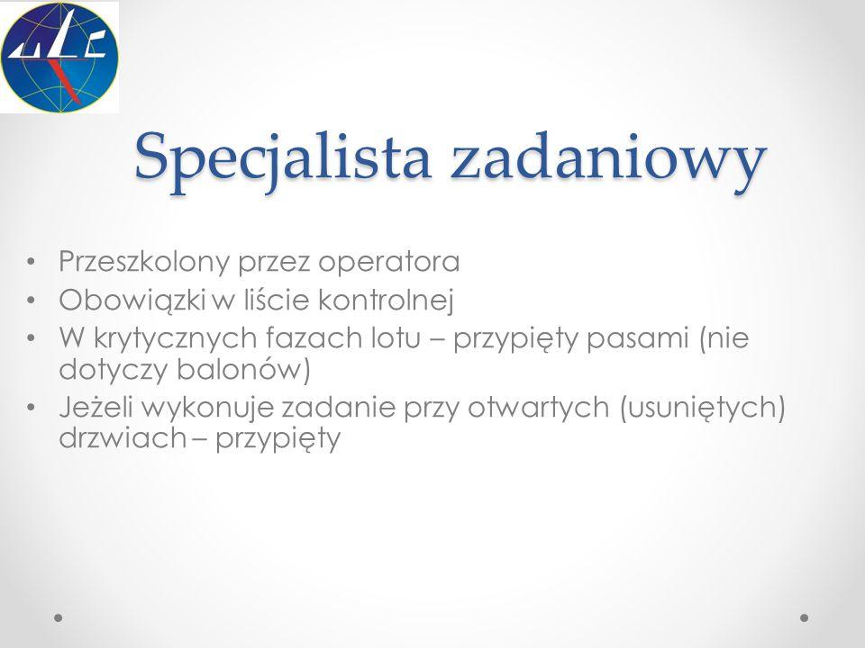 Specjalista zadaniowy