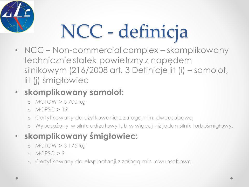 NCC - definicja