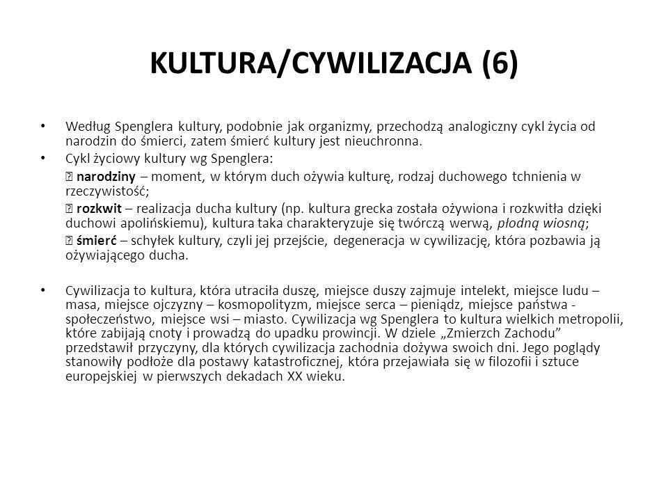 KULTURA/CYWILIZACJA (6)