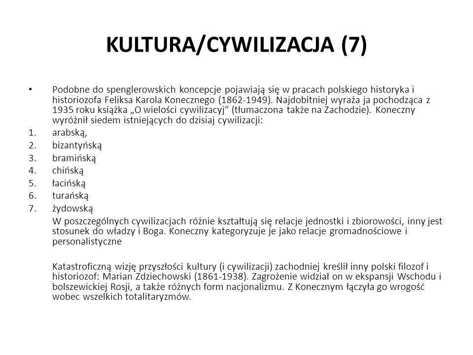 KULTURA/CYWILIZACJA (7)