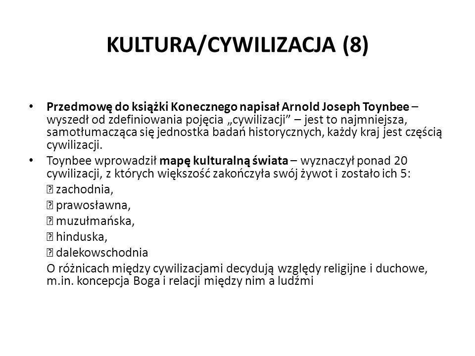 KULTURA/CYWILIZACJA (8)