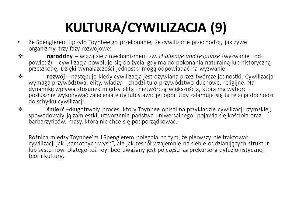 KULTURA/CYWILIZACJA (9)