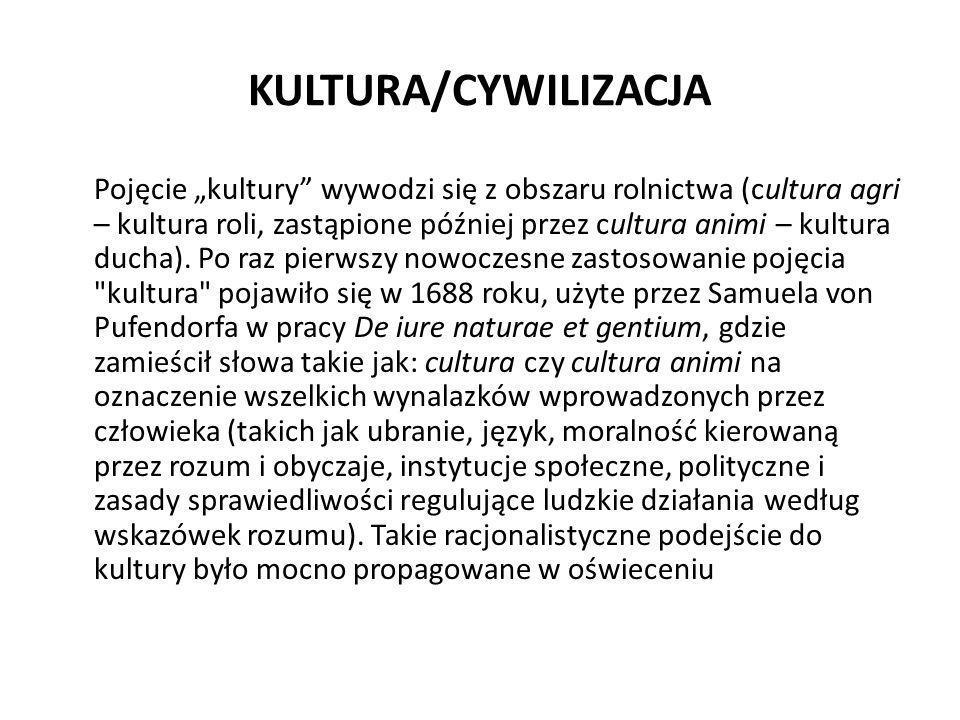 KULTURA/CYWILIZACJA