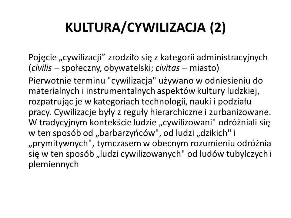 KULTURA/CYWILIZACJA (2)