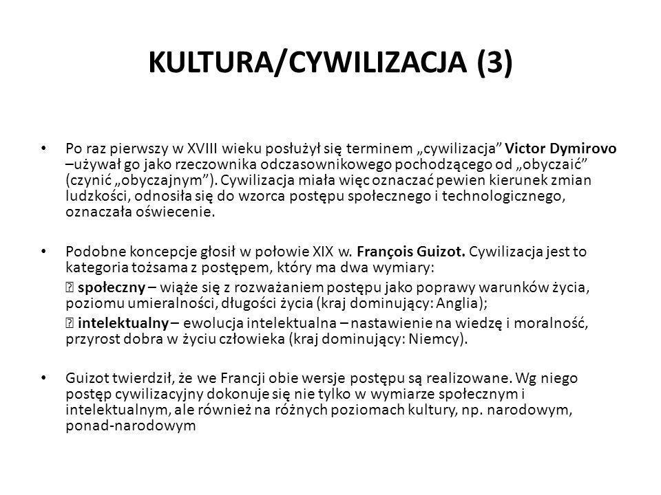 KULTURA/CYWILIZACJA (3)