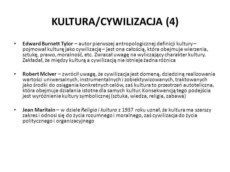 KULTURA/CYWILIZACJA (4)
