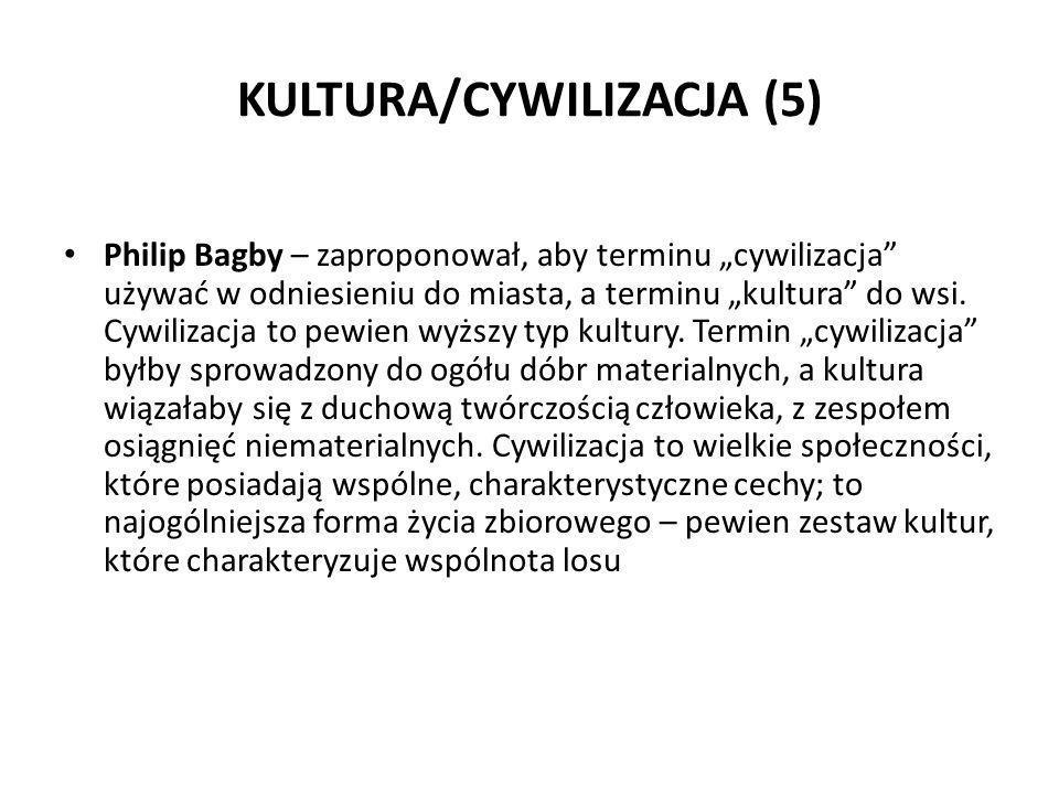 KULTURA/CYWILIZACJA (5)