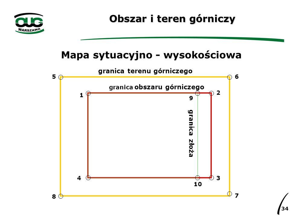 Obszar i teren górniczy
