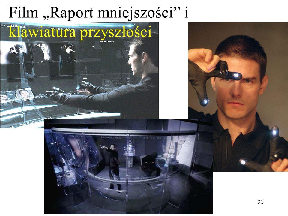 """Film """"Raport mniejszości i klawiatura przyszłości"""