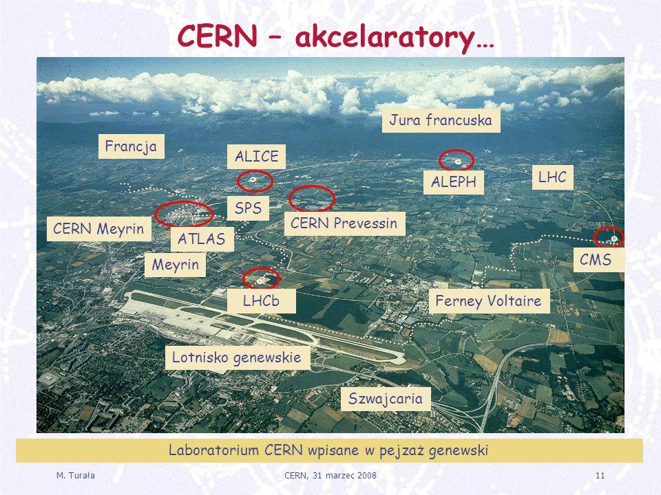 Laboratorium CERN wpisane w pejzaż genewski