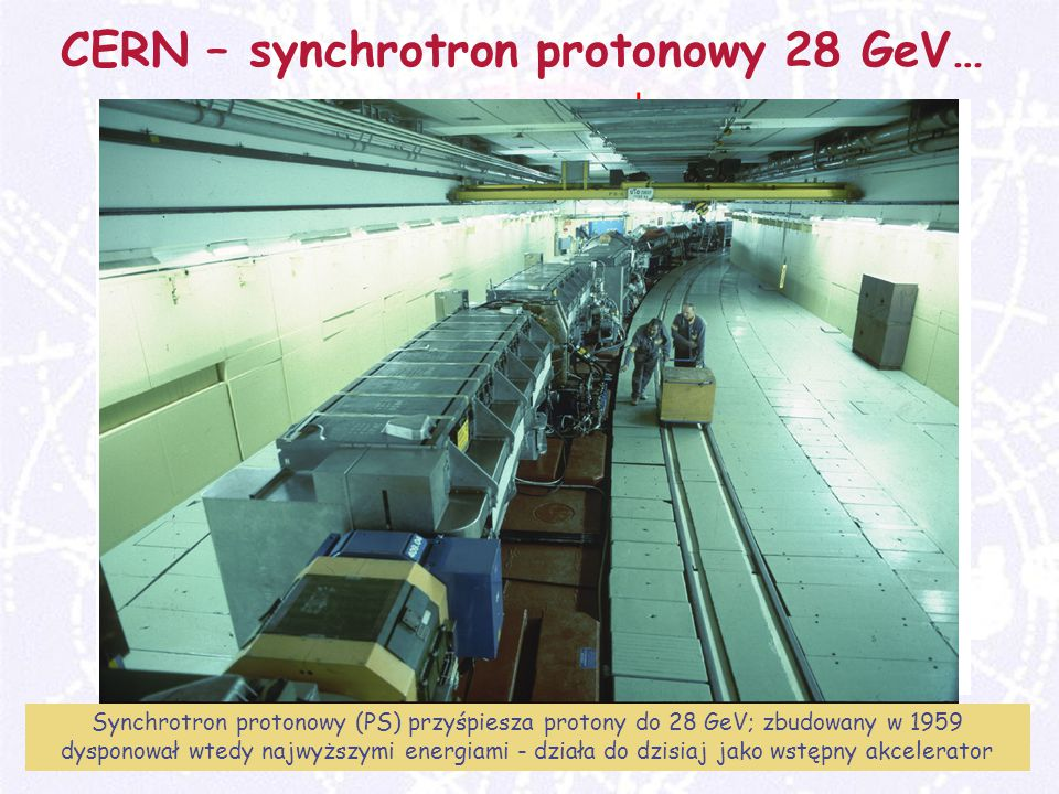 CERN – synchrotron protonowy 28 GeV…