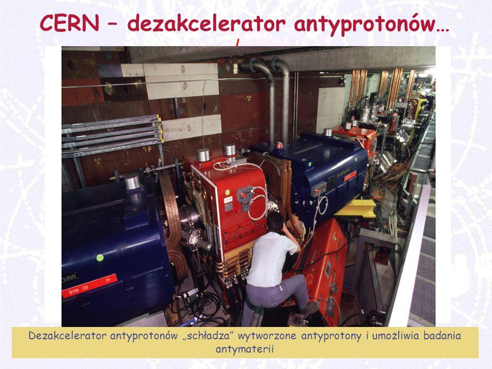 CERN – dezakcelerator antyprotonów…
