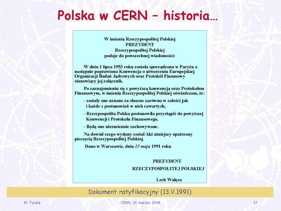 Dokument ratyfikacyjny (13.V.1991)