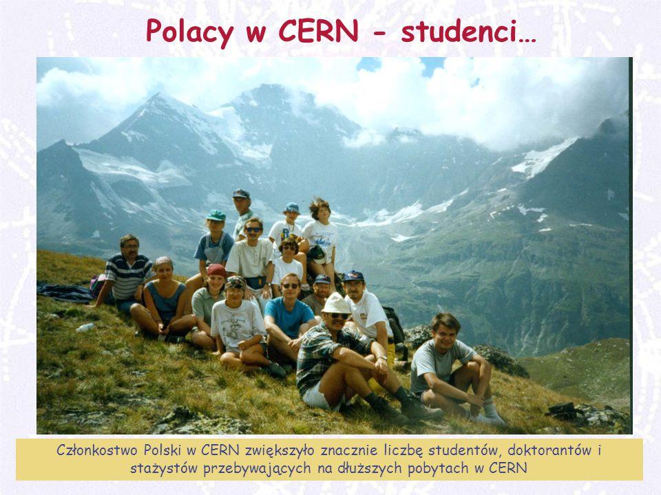 Polacy w CERN - studenci…