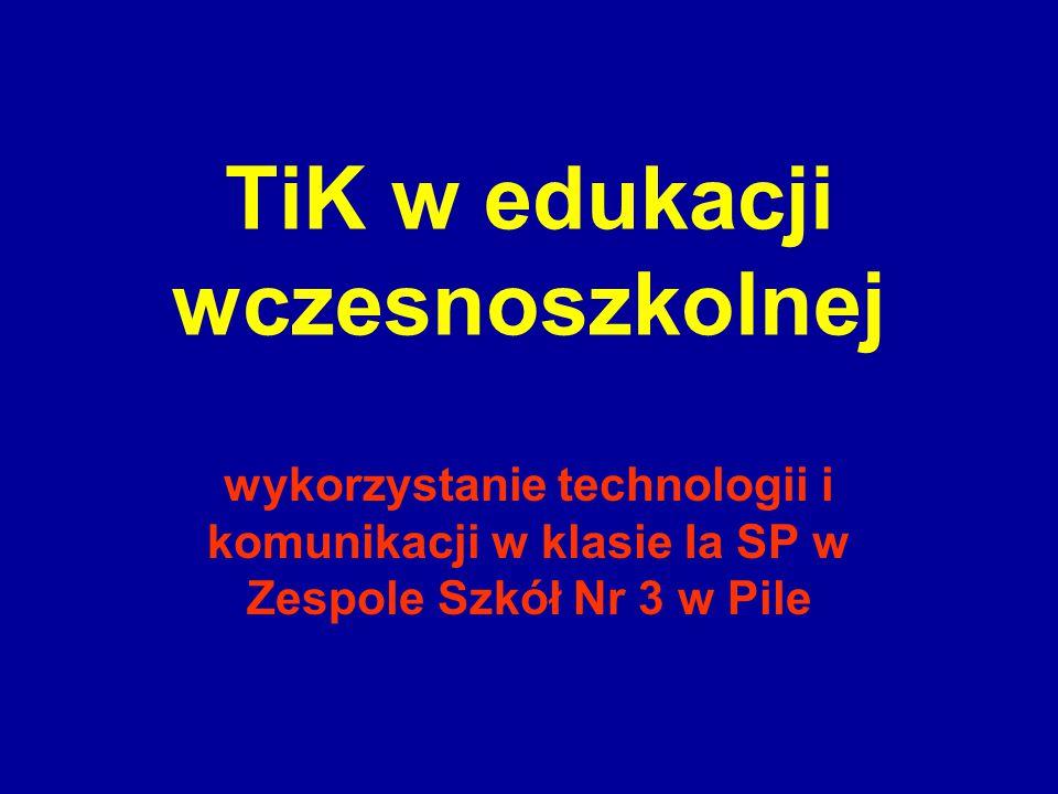 TiK w edukacji wczesnoszkolnej