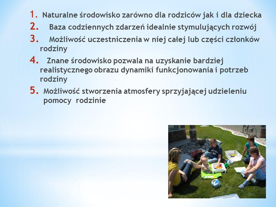 Naturalne środowisko zarówno dla rodziców jak i dla dziecka