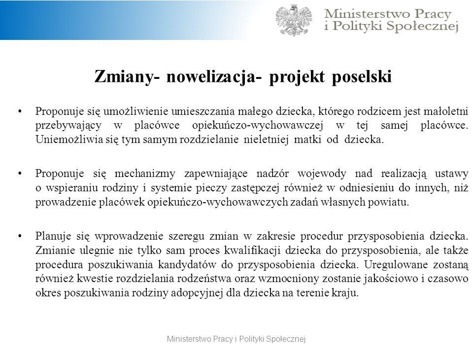 Zmiany- nowelizacja- projekt poselski