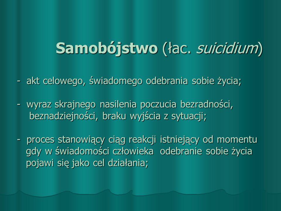 Samobójstwo (łac.