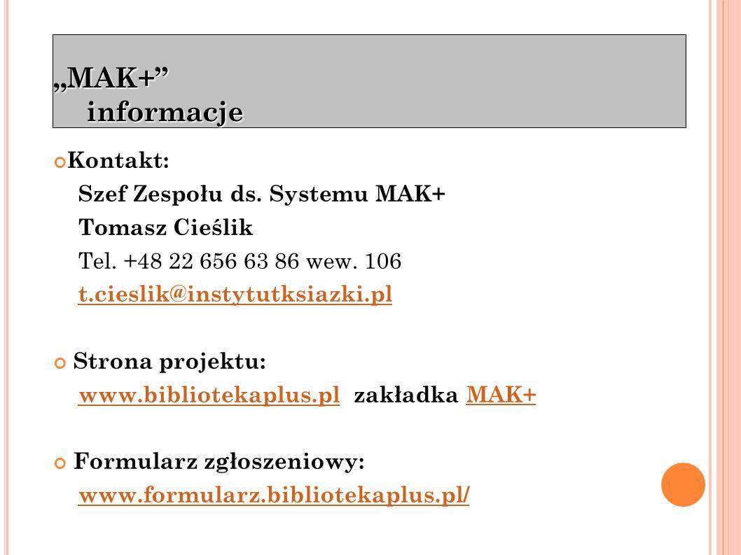 """""""MAK+ Pierwsze kroki Logowanie"""