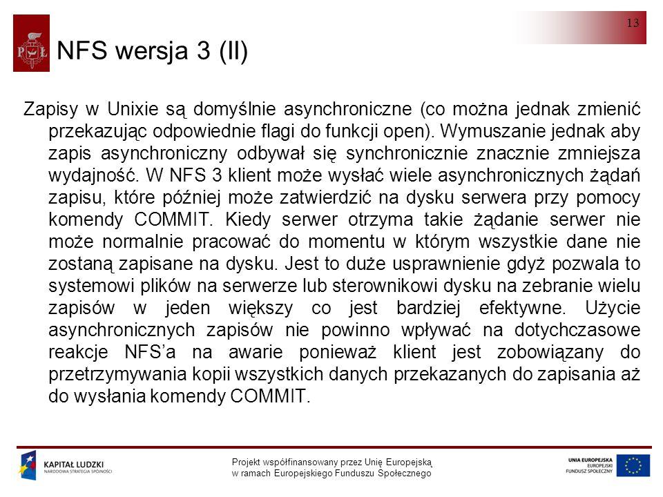 NFS wersja 3 (II)