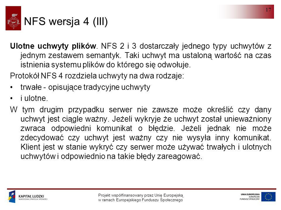 NFS wersja 4 (III)