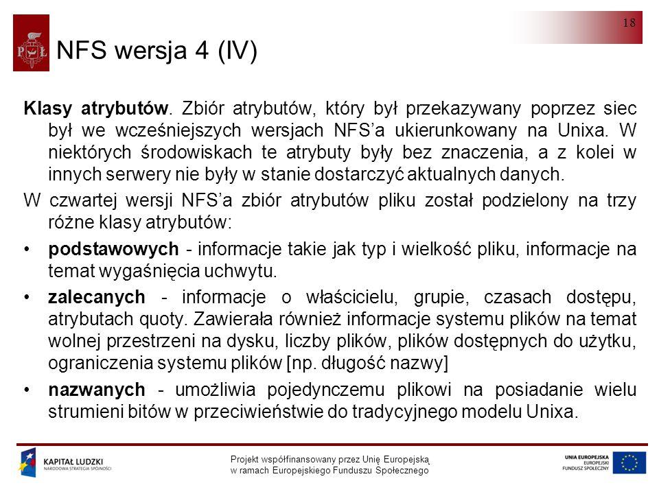 NFS wersja 4 (IV)