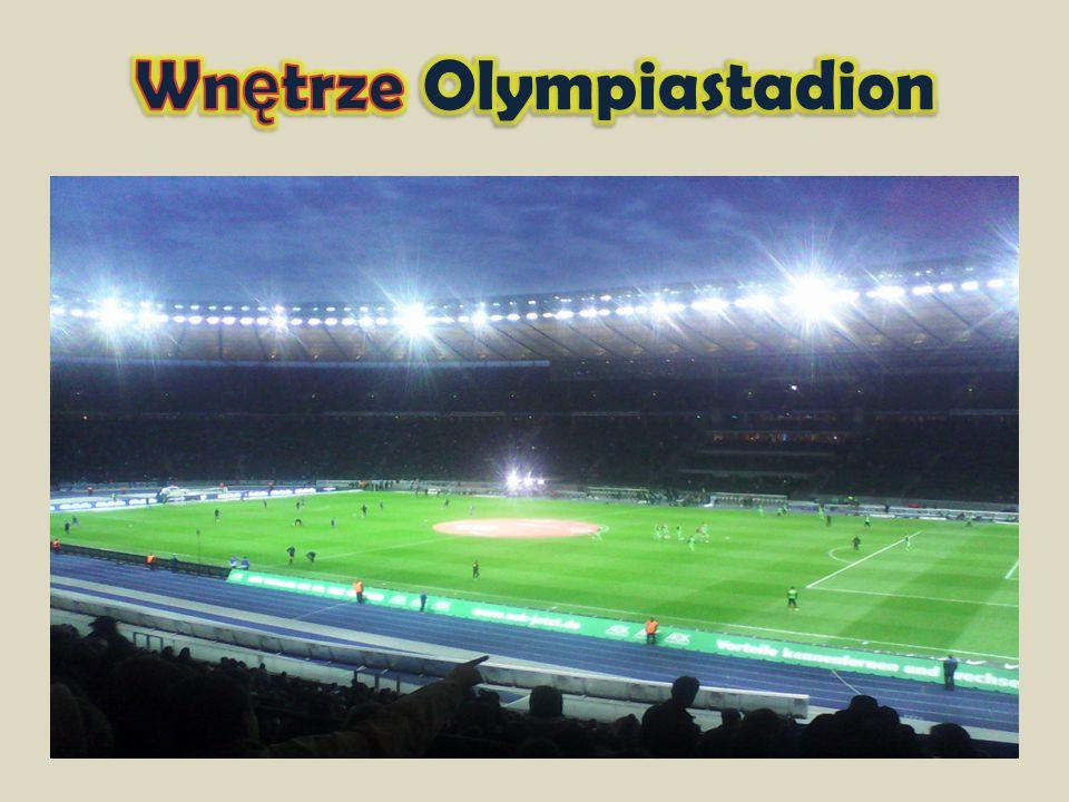 Wnętrze Olympiastadion