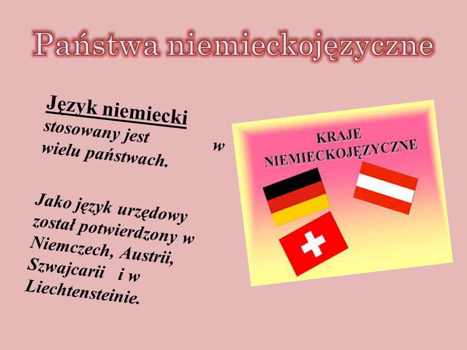 Państwa niemieckojęzyczne