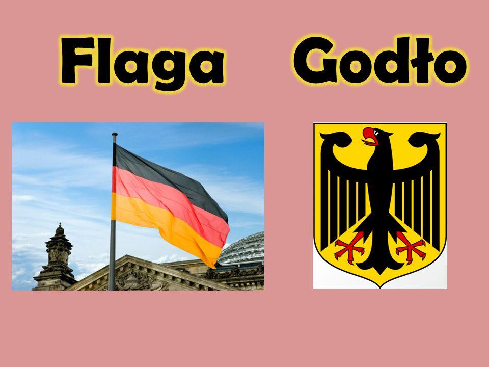 Flaga Godło