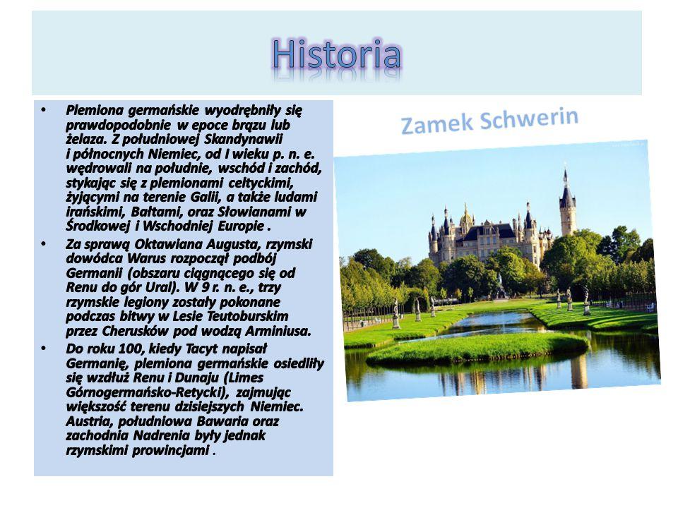 Historia Zamek Schwerin