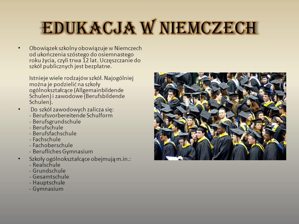 Edukacja w Niemczech