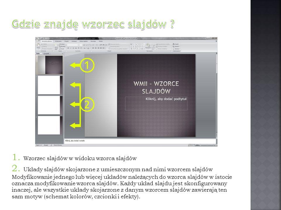 Gdzie znajdę wzorzec slajdów