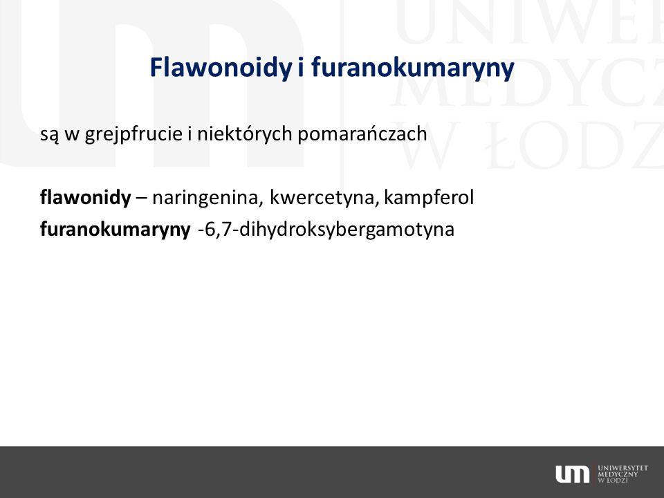 Flawonoidy i furanokumaryny
