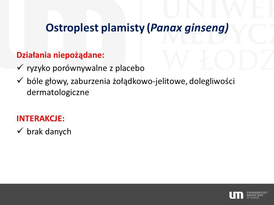 Ostroplest plamisty (Panax ginseng)