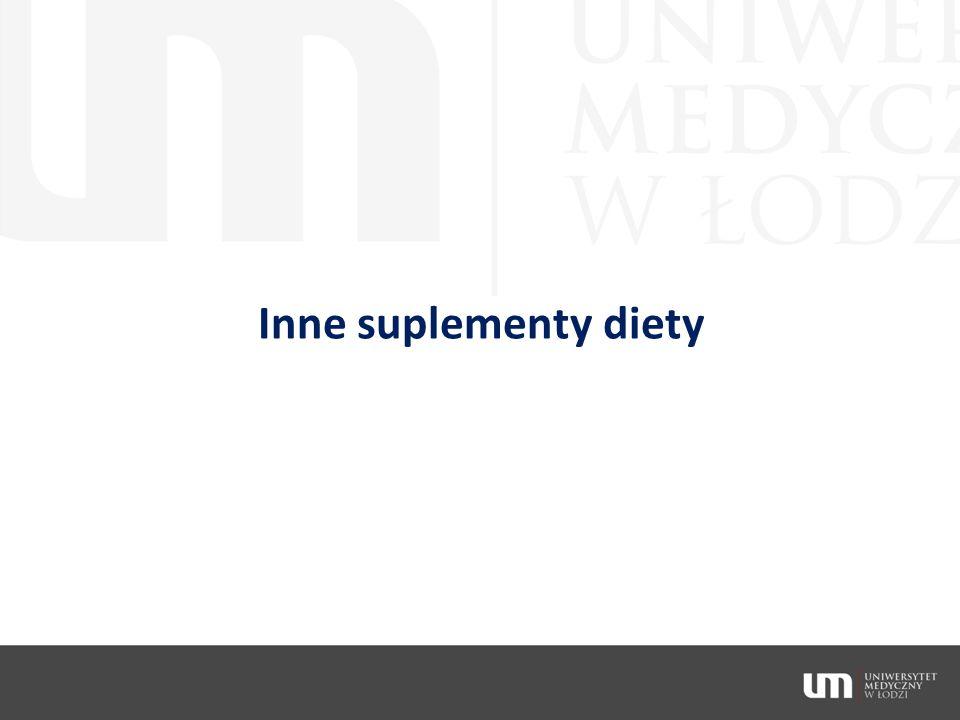 Inne suplementy diety