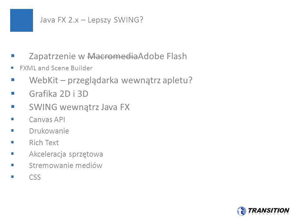 Zapatrzenie w MacromediaAdobe Flash