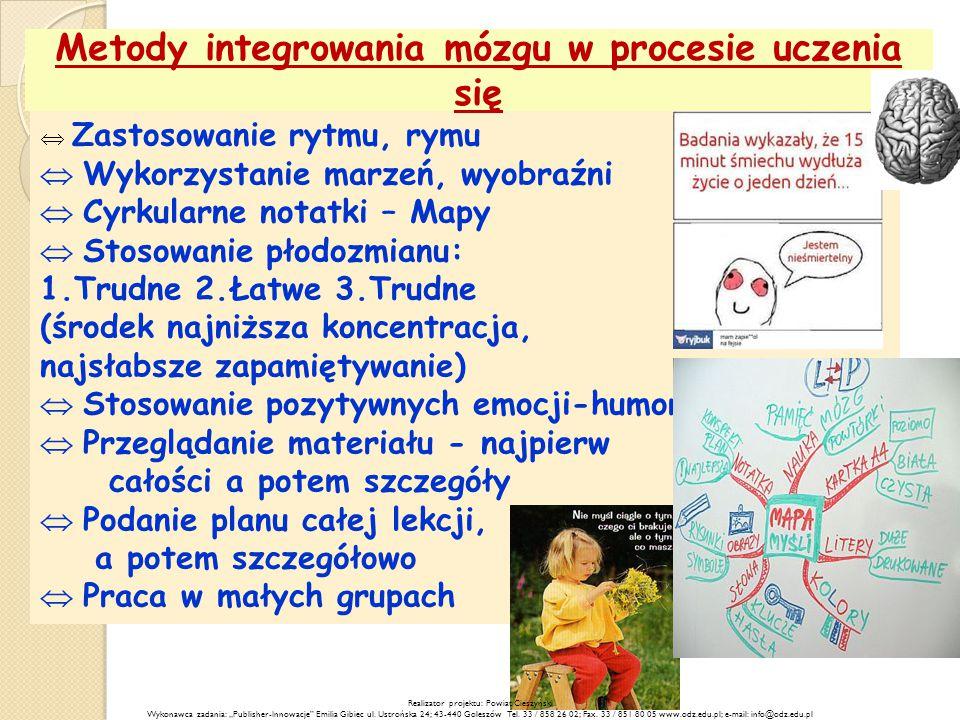 Metody integrowania mózgu w procesie uczenia się
