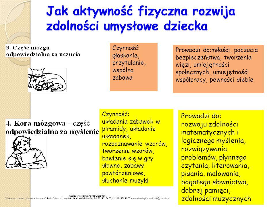 Jak aktywność fizyczna rozwija zdolności umysłowe dziecka